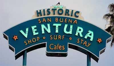 Drug Rehab Ventura Sign